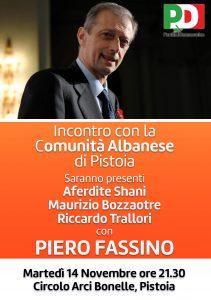 fassino iniziativa con comunità albanese1